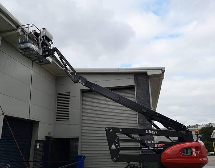 Commercial Gutter Cleaning in Sheffield