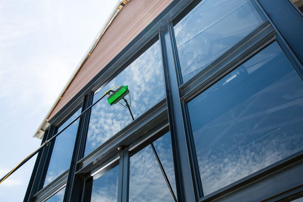 How often should windows be cleaned?