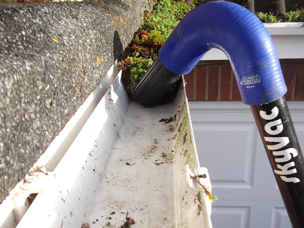 How often should gutters be cleaned?