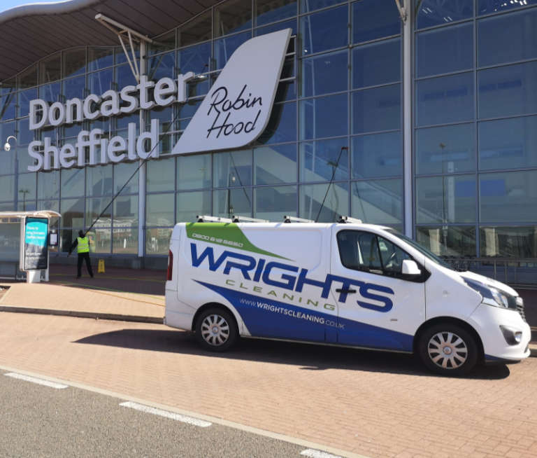 Wrights Cleaning Doncaster Airport